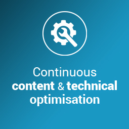 As an SEO expert, we offer ongoing content and technical search engine optimisation