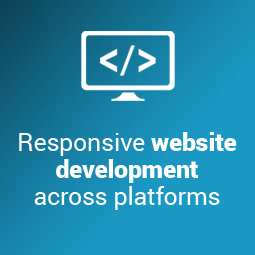 Our SEO solutions include optimised, responsive website design Johannesburg across platforms
